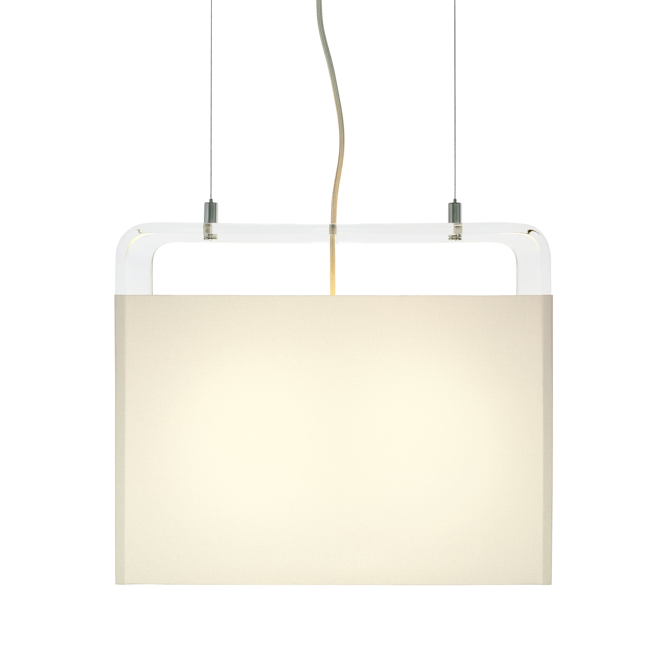 Tube Top Pendant Light: Medium