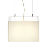Tube Top Pendant Light: Medium + 18