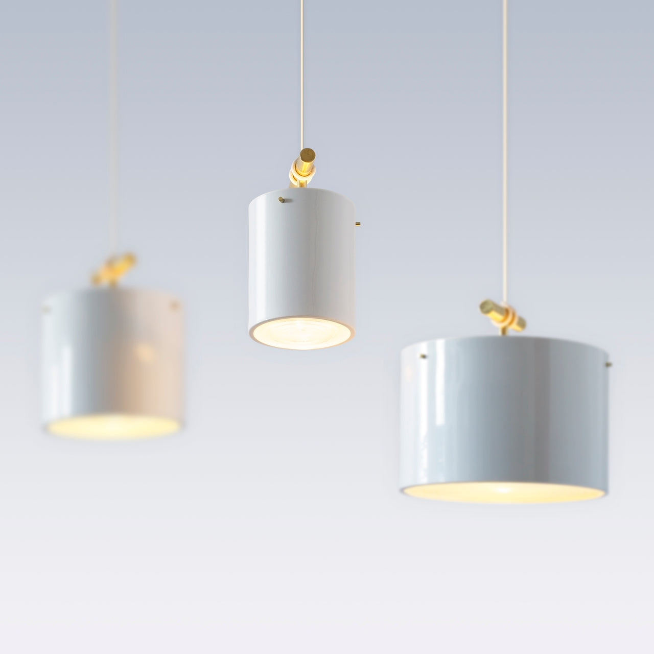 Fresnel Pendant Light