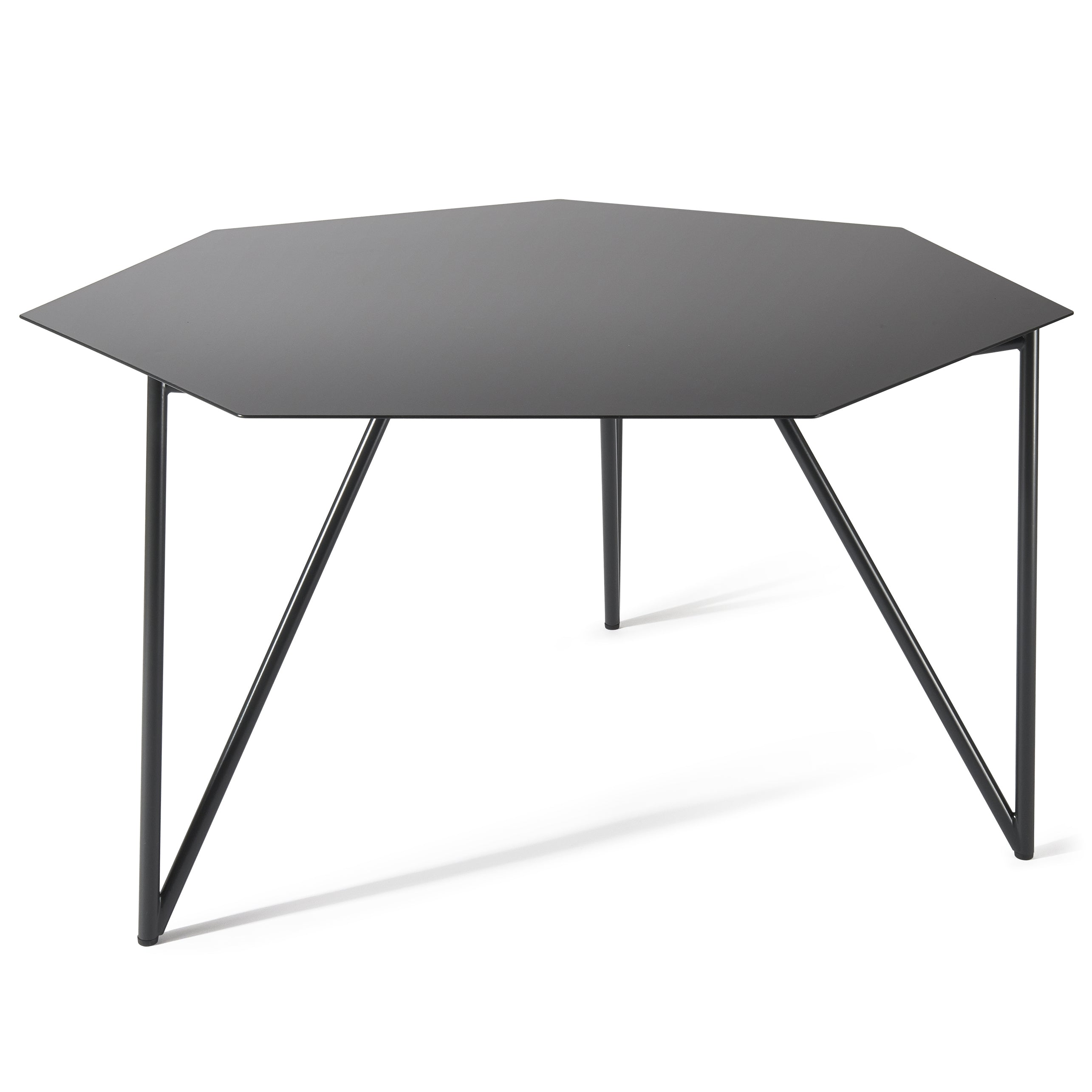 Terra Coffee Table: Black Grey