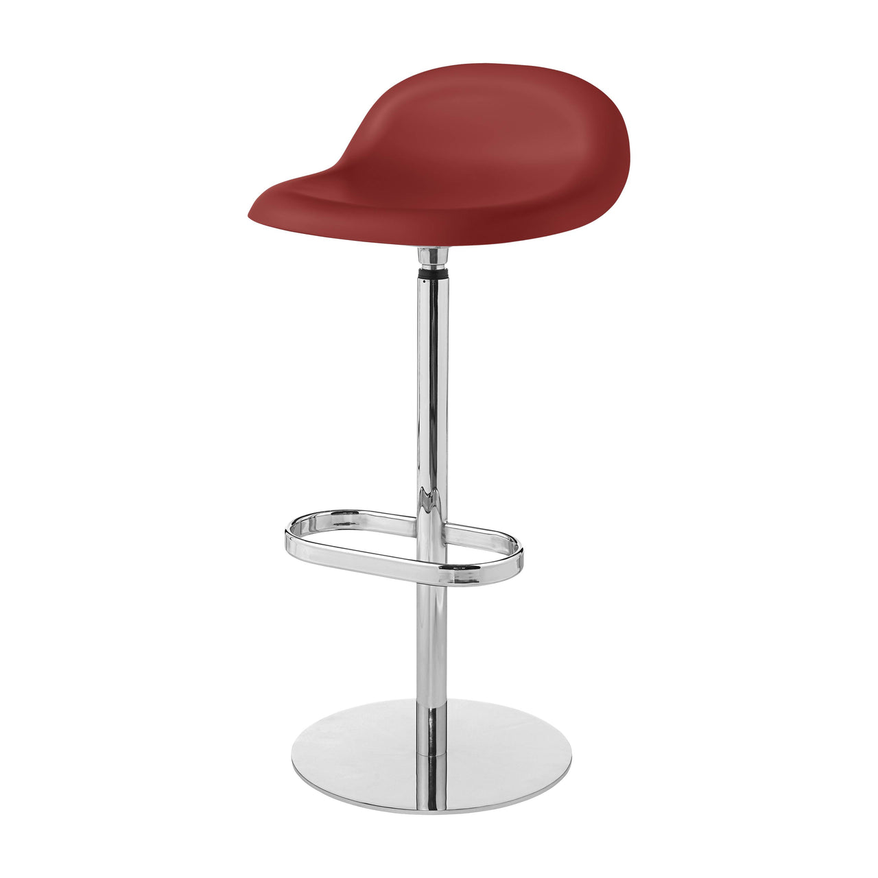 3D Bar Stool: Swivel Base + Shy Cherry