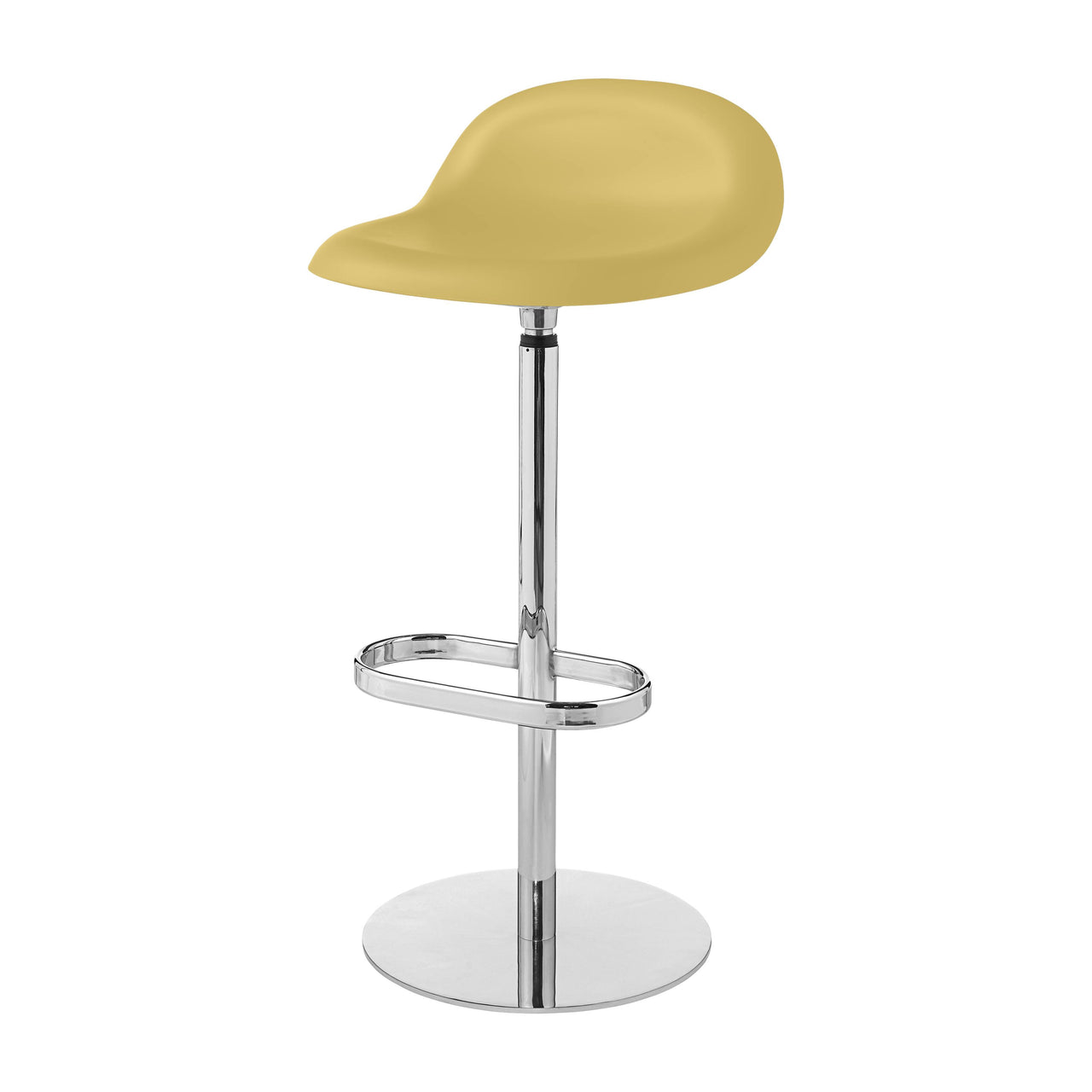 3D Bar Stool: Swivel Base + Venetian Gold