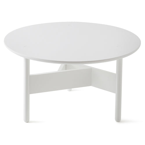 Orbital Coffee Table: Small + Signal White