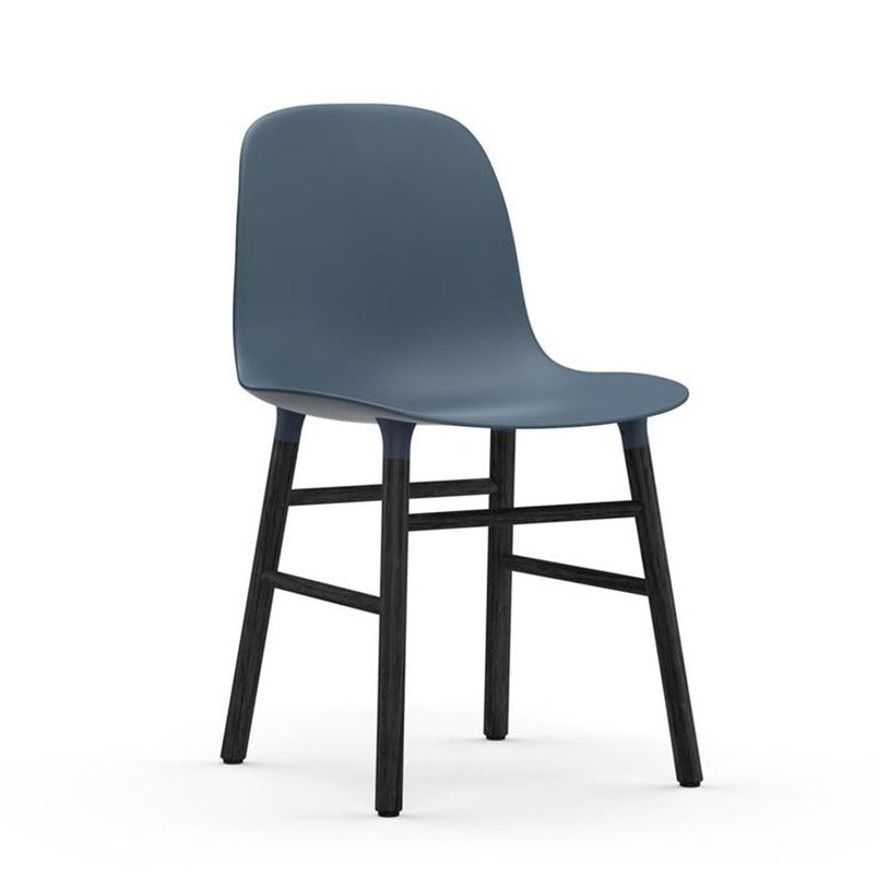 Form Chair: Black-Lacquered Oak