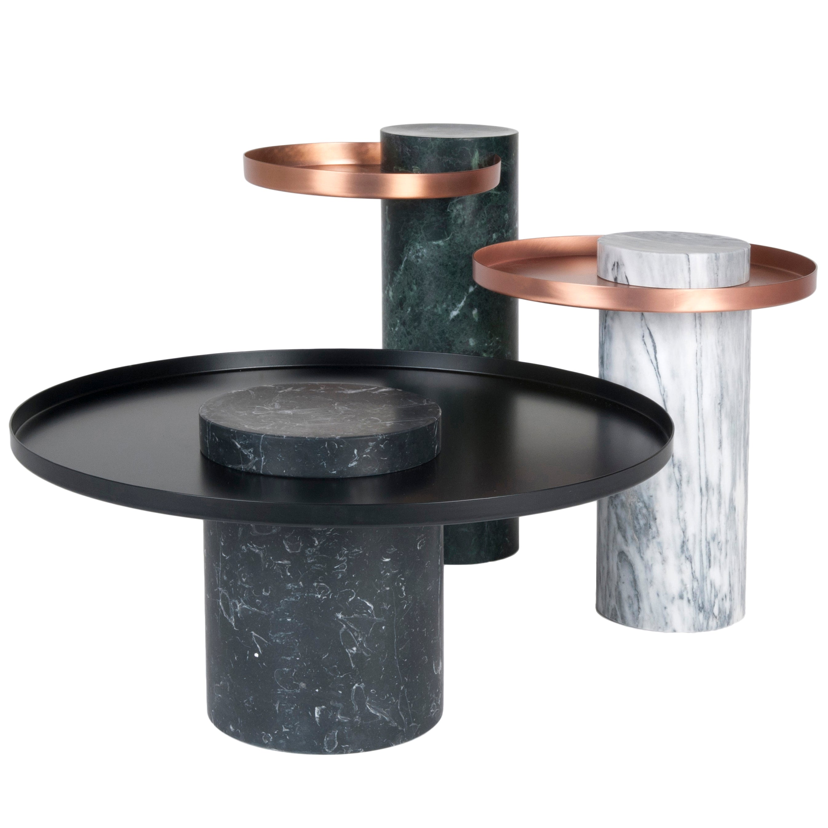 Salute Side Table or Coffee Table Collection