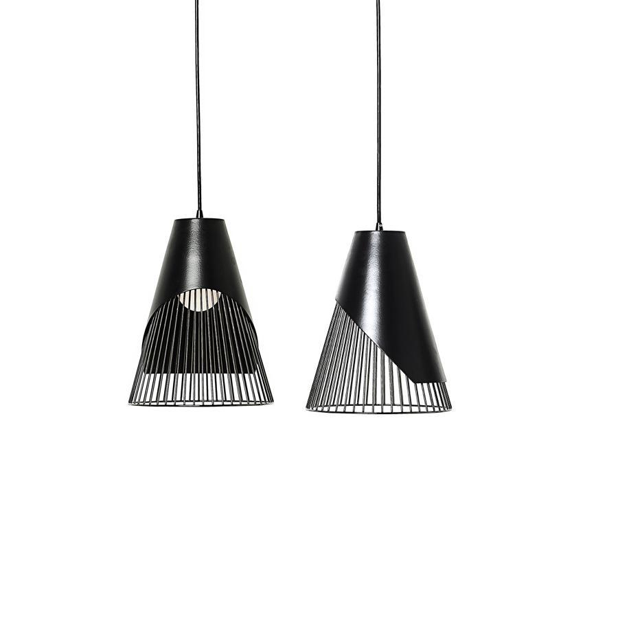 Conic Section Pendant Light: Parabola