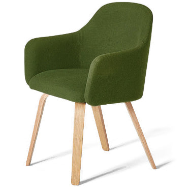 MT Club Chair: Wood Frame