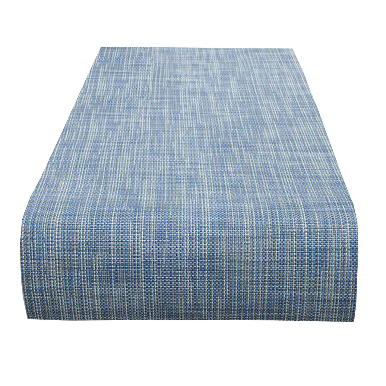 Mini Basketweave Table Runner: Chambray