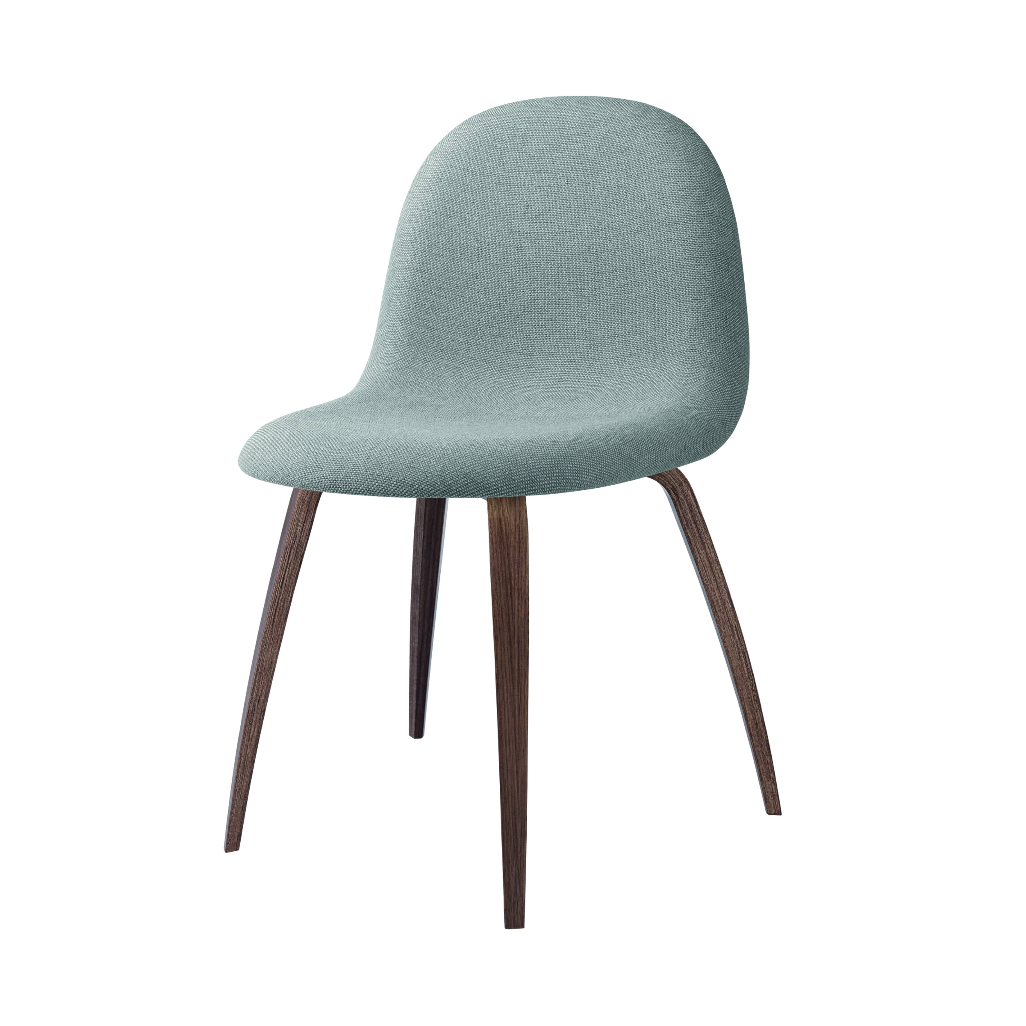 3D Dining Chair: Wood Base + Full Upholstery: American Walnut