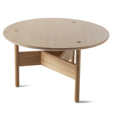 Orbital Coffee Table: Small + Oak