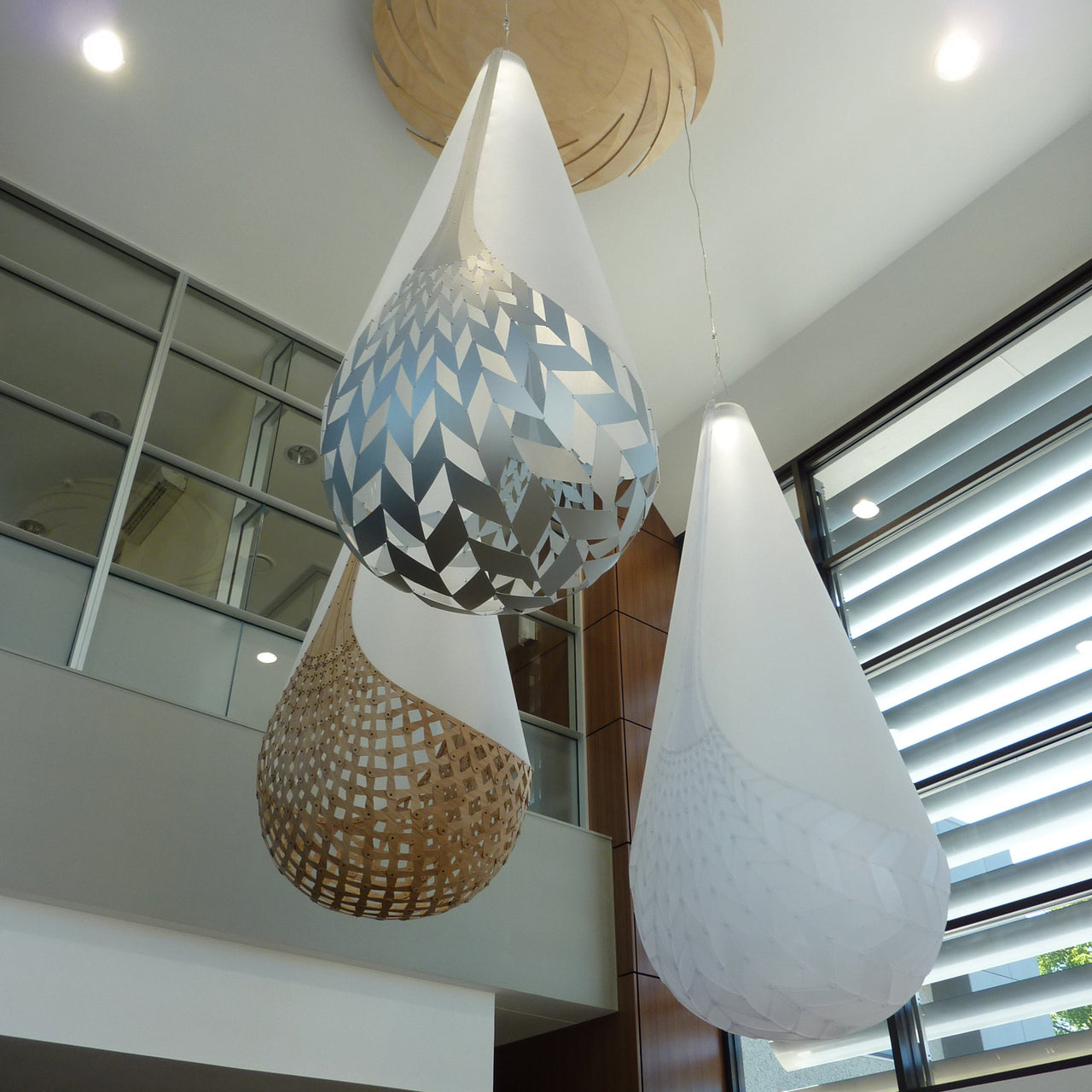 Bamboo Basket Pendant Light (Kete Aronui)