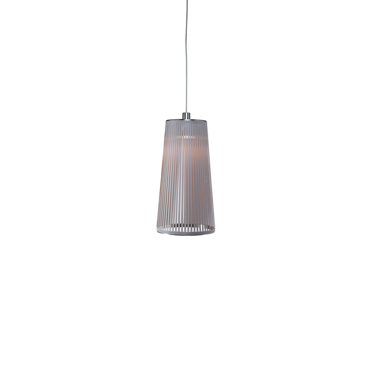 Solis Pendant Light: Small + Silver