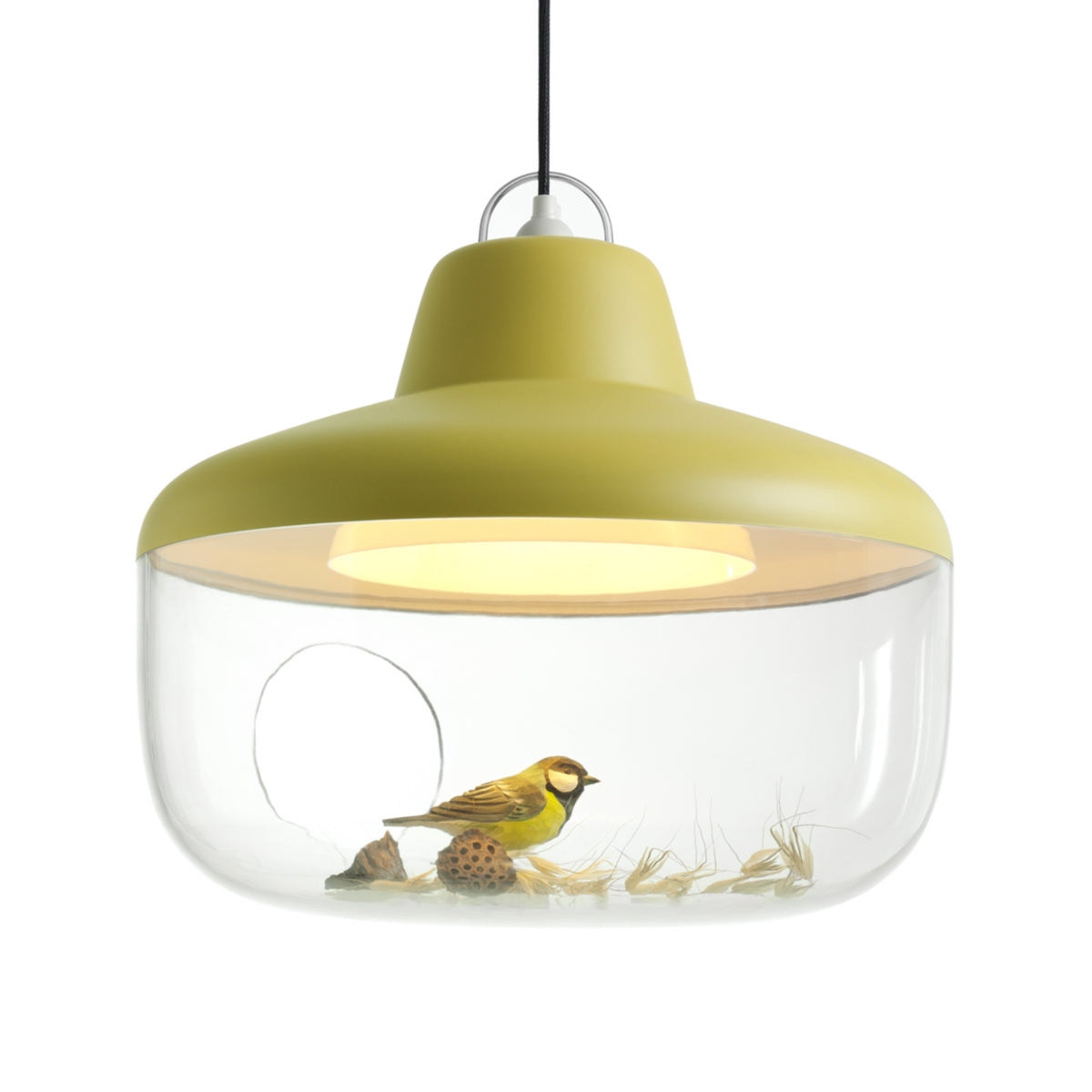 Favorite Things Pendant Lamp: Mustard Yellow