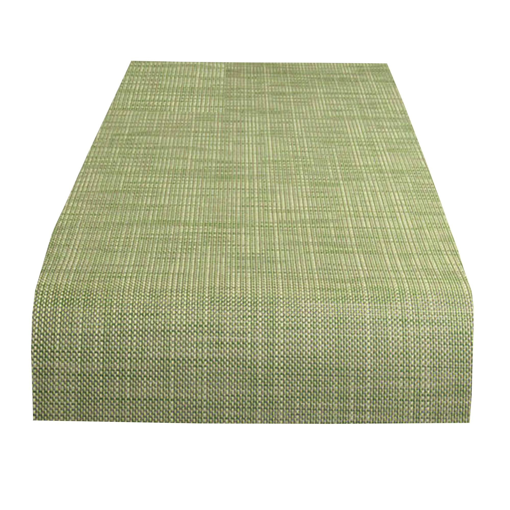 Mini Basketweave Table Runner: Dill
