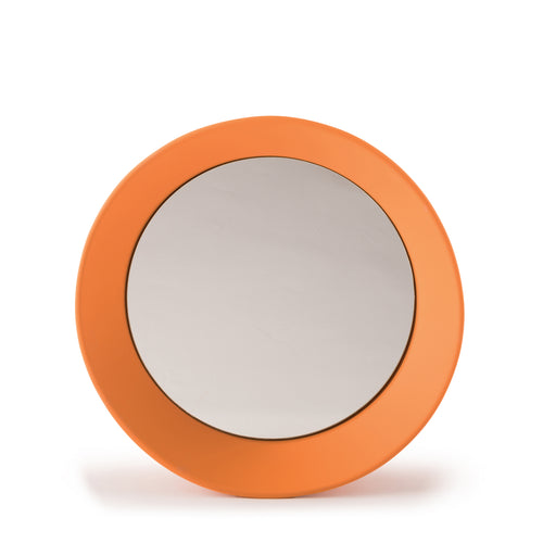 Girotondo Mirror: Small + Deep Orange