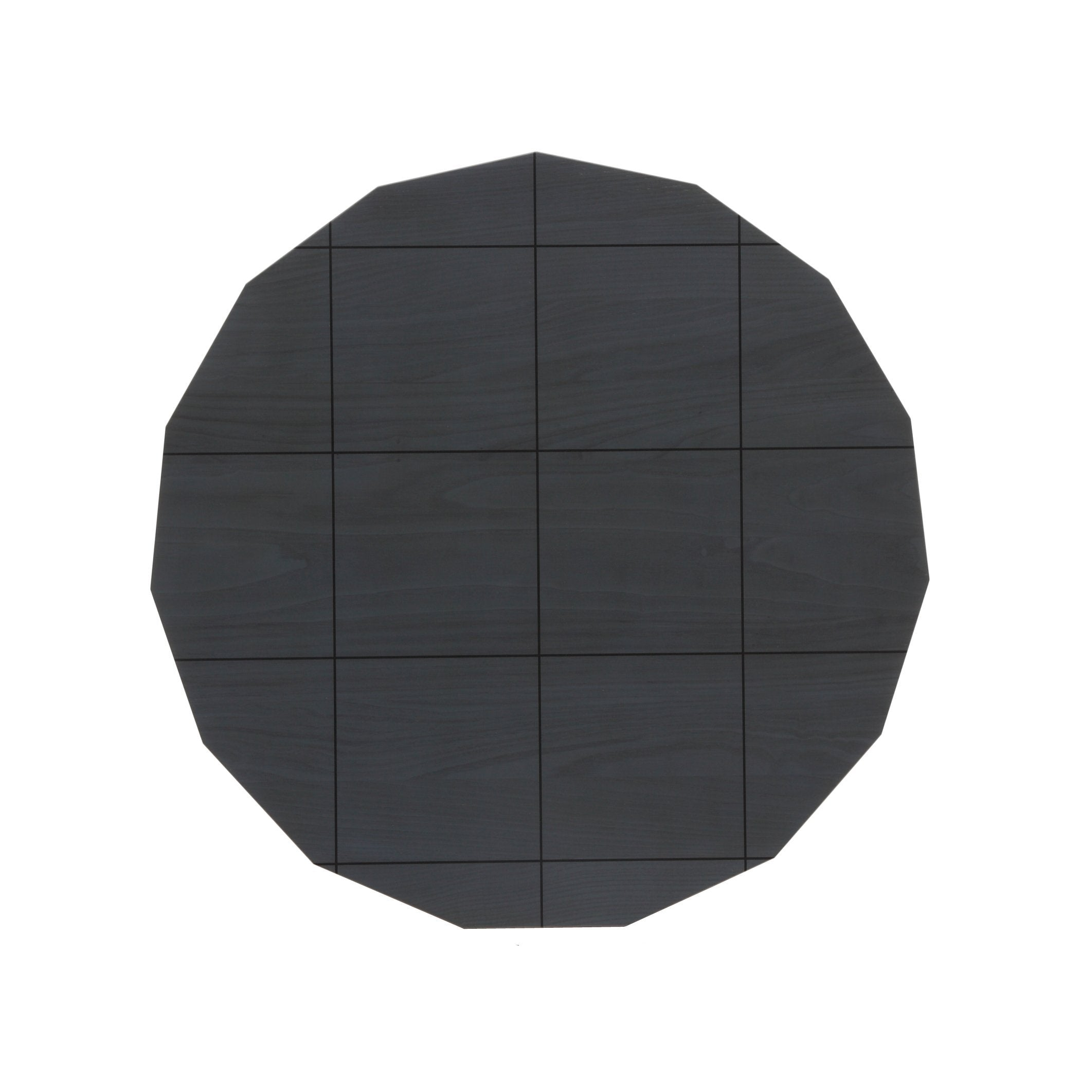 Colour Wood Tables: Dark Grid Top