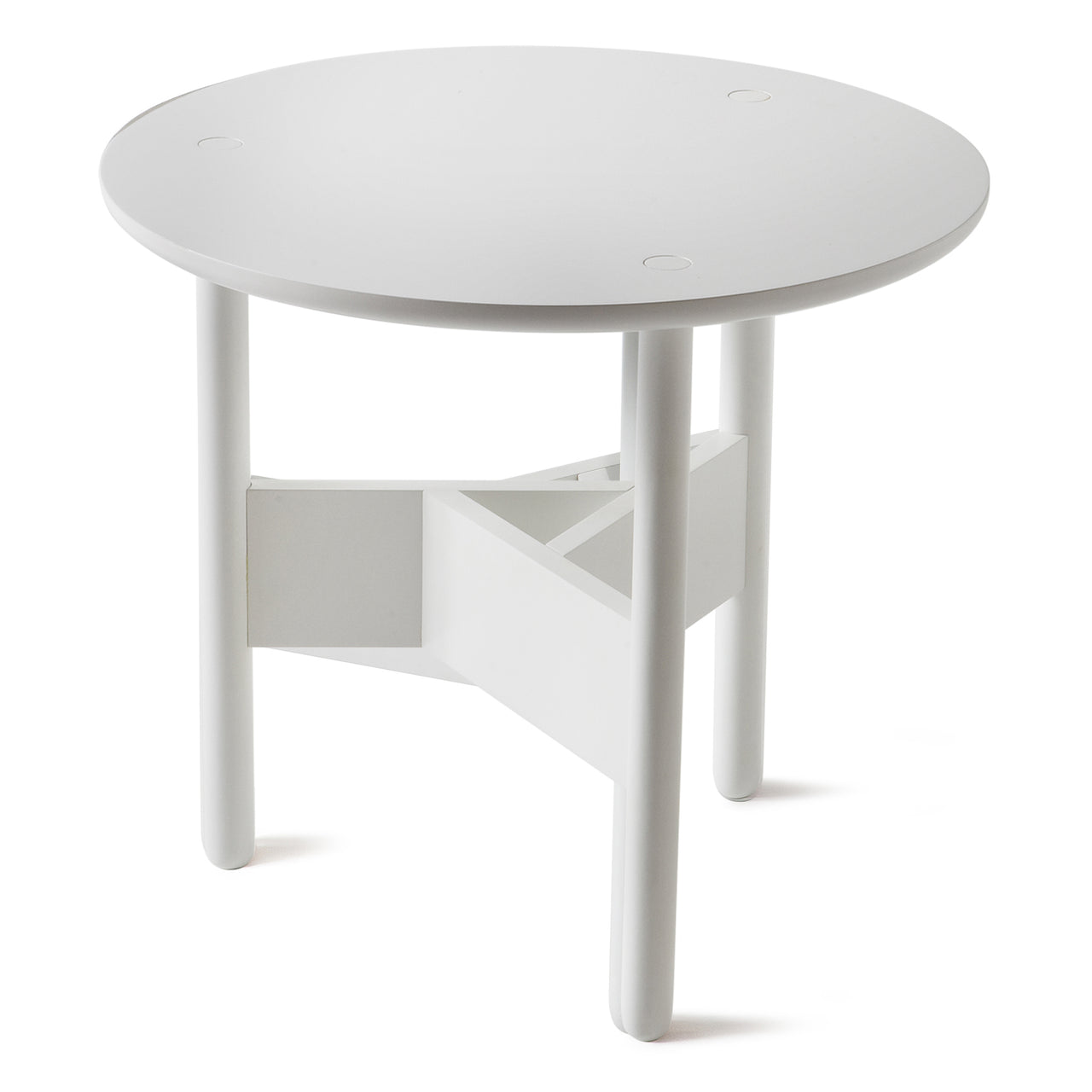 Orbital Coffee Table: Large + Signal White