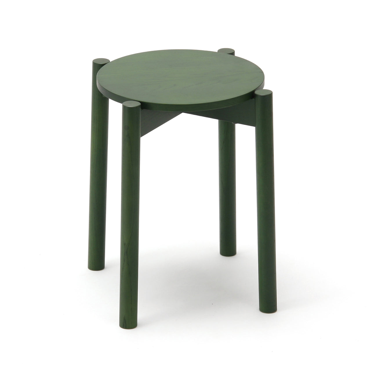 Castor Stool Plus: Moss Green
