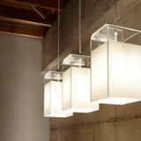 Tube Top Pendant Light: Small