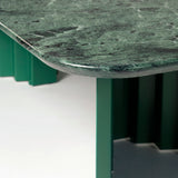 Plec Table: Marble Top