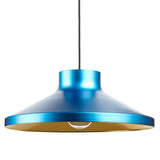 VGP1 Pendant Light: Blue + Brass