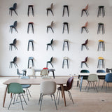 Beetle Dining Chair: Conic Base