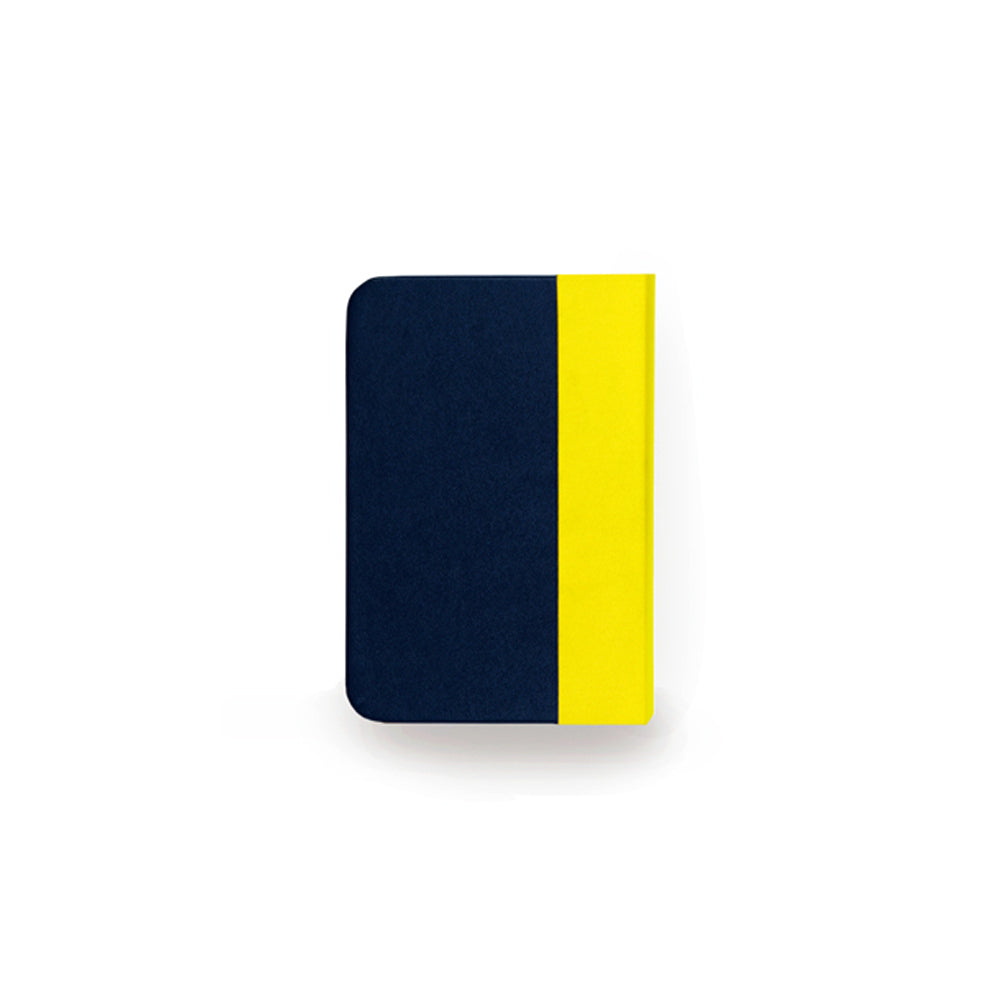 Mini Lumio+ Book Lamp: Yellow/Navy