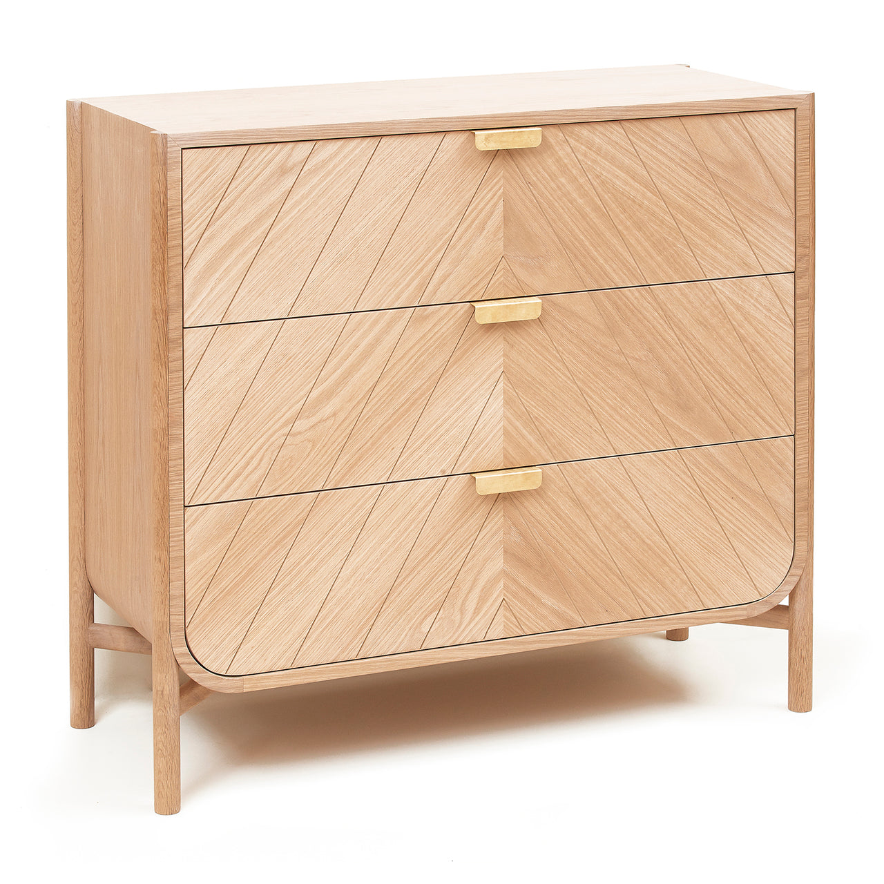 Marius Chest of Drawers: Natural Oak