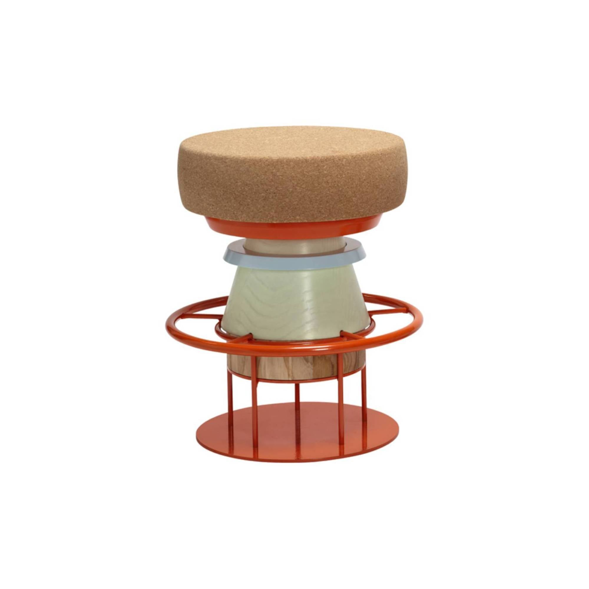 Tembo Stool: Low + Multi Colors