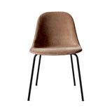Harbour Side Chair: Steel Base Upholstered