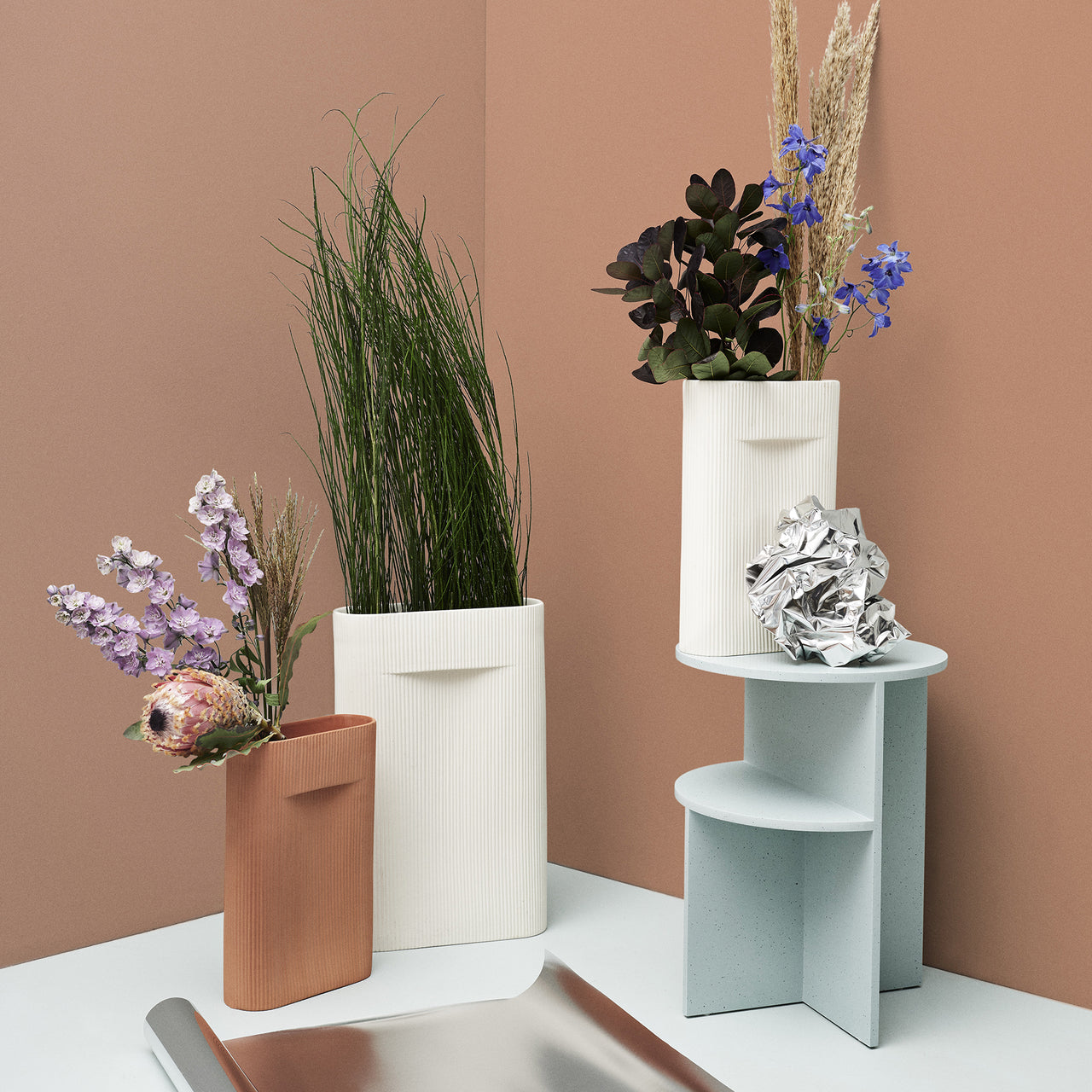 Halves Side Table | Buy Muuto online at A+R