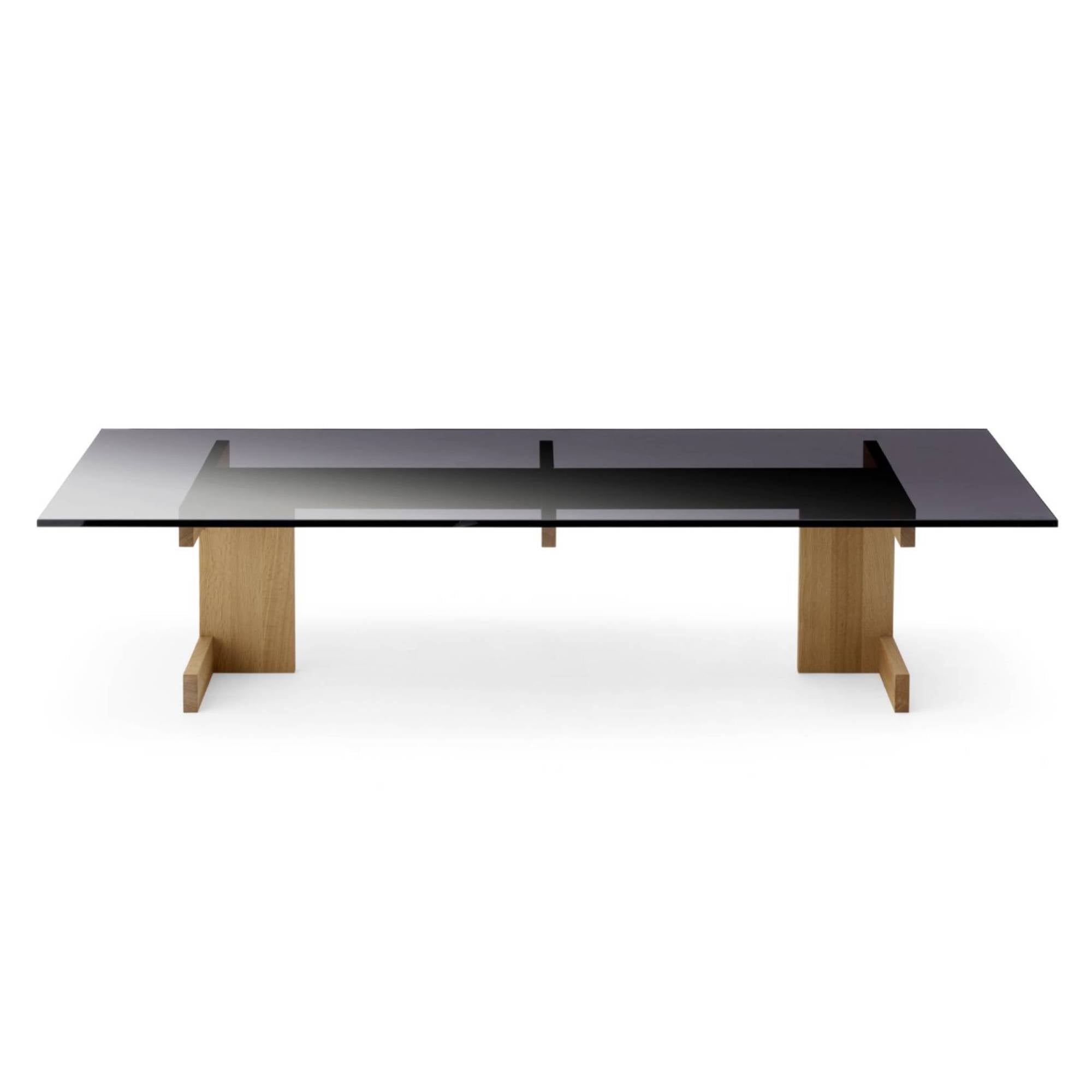 Kinuta Coffee Table Glass A-CT01: Pure Oak