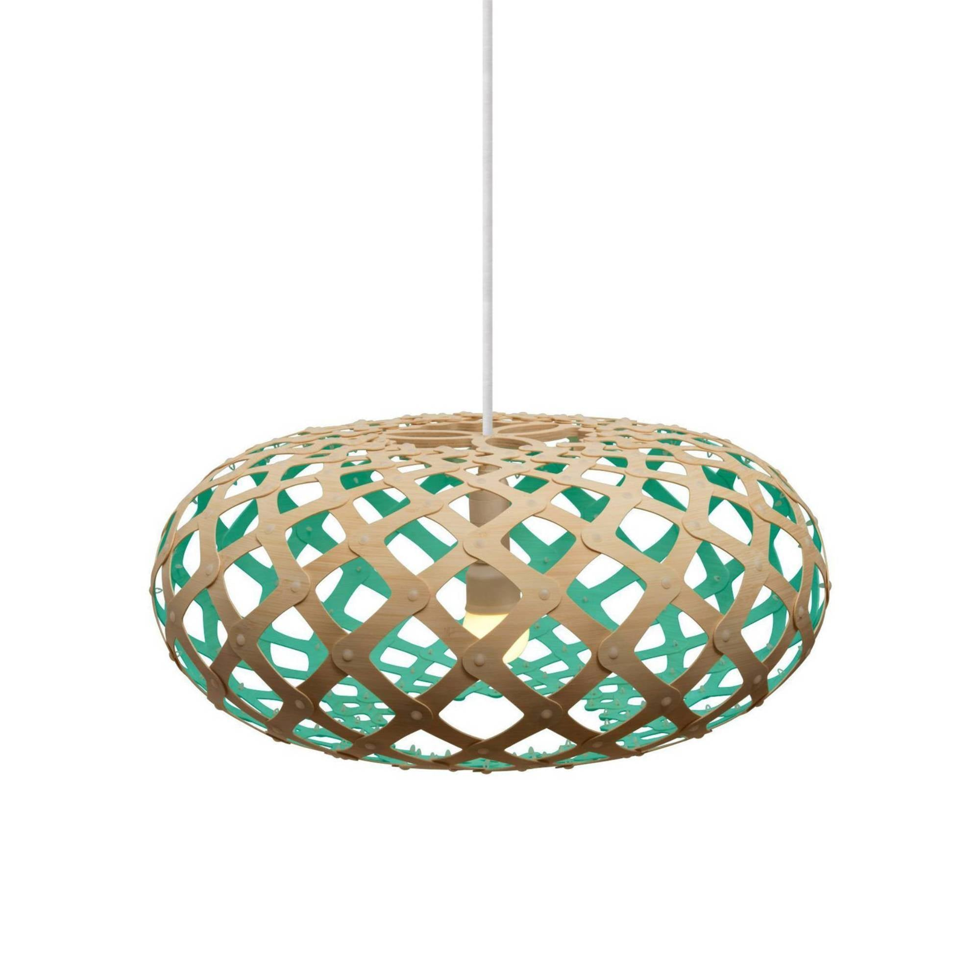 Kina Pendant Light: 440 + Aqua