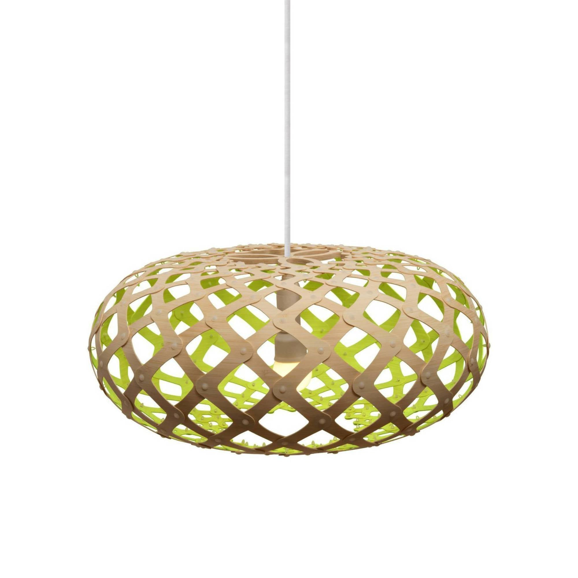 Kina Pendant Light: 440 + Lime