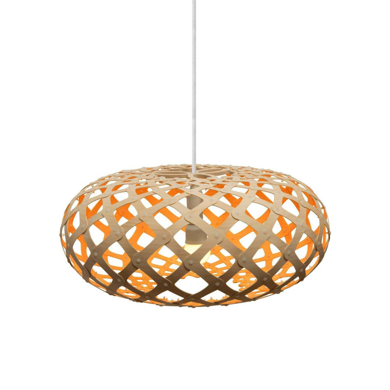Kina Pendant Light: 440 + Orange