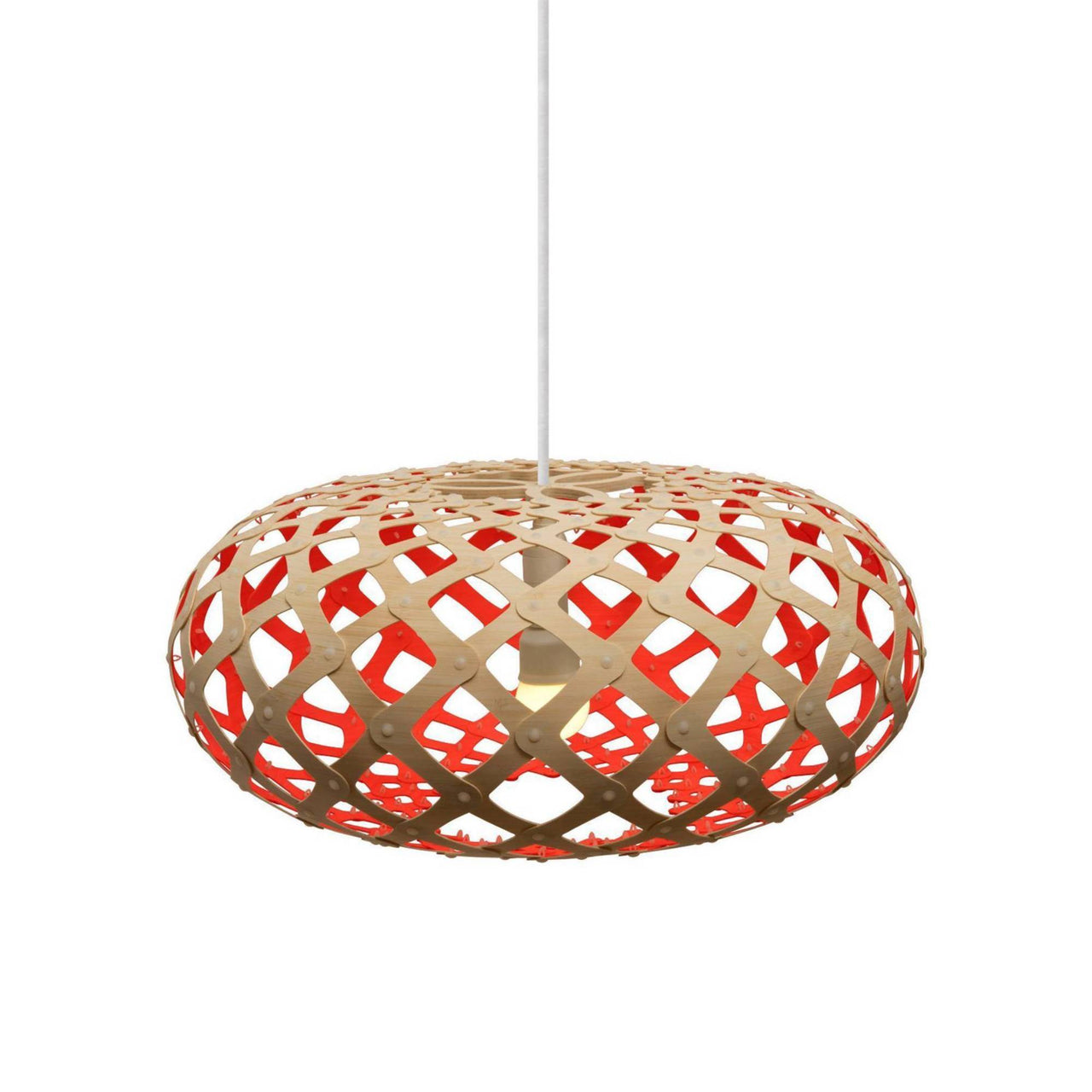 Kina Pendant Light: 440 + Red