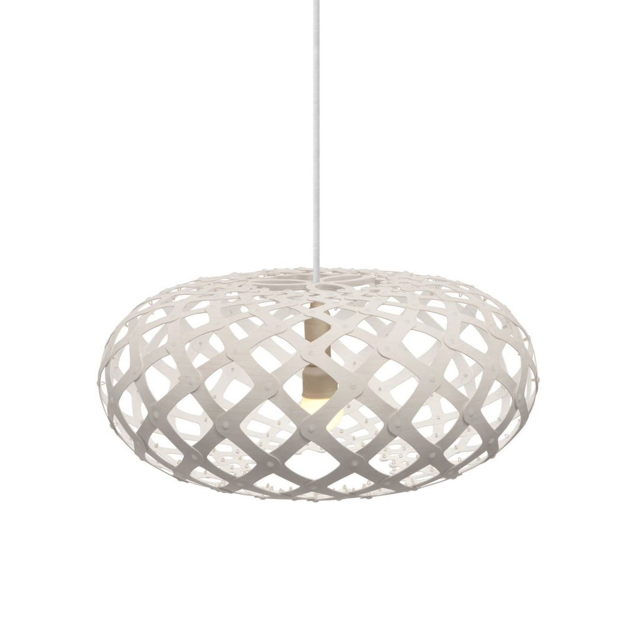 Kina Pendant Light: 440 + White Two Sides