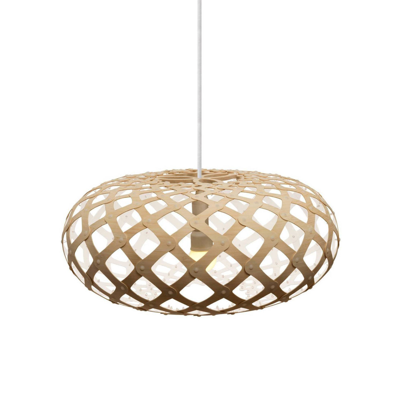 Kina Pendant Light: 440 + White