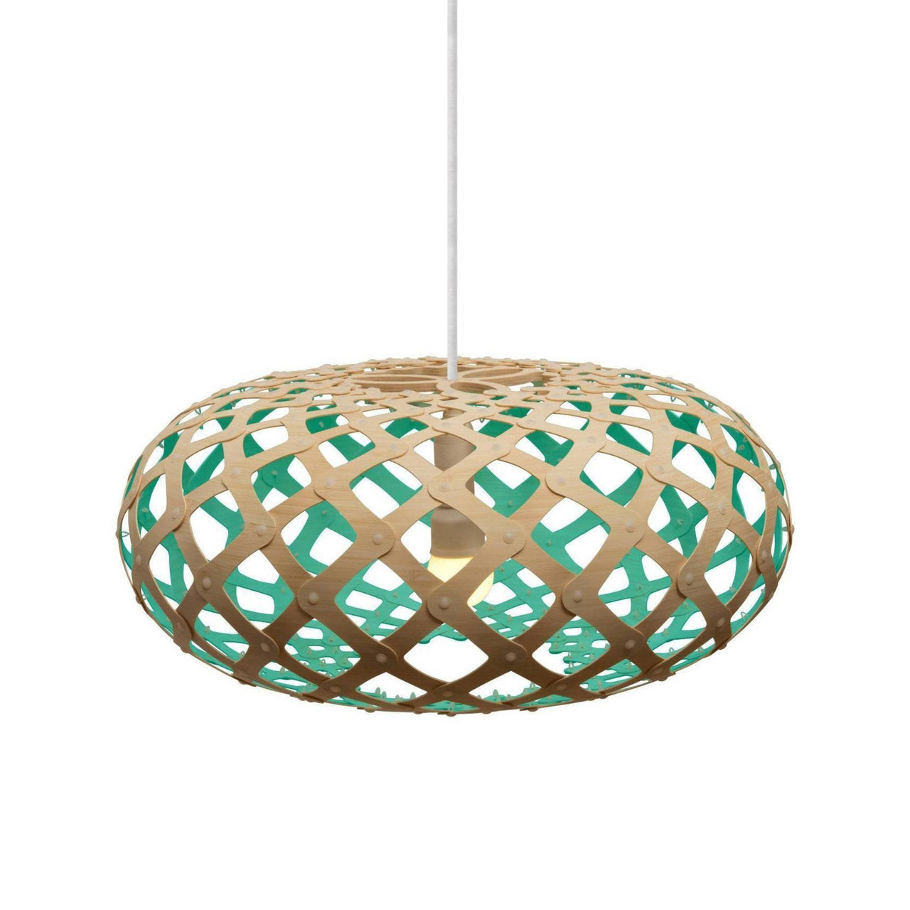 Kina Pendant Light: 600 + Aqua