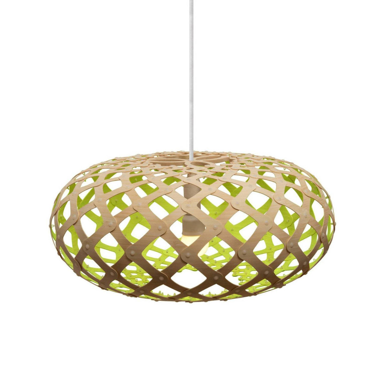 Kina Pendant Light: 600 + Lime
