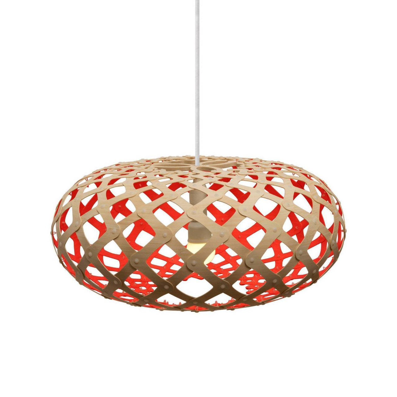 Kina Pendant Light: 600 + Red