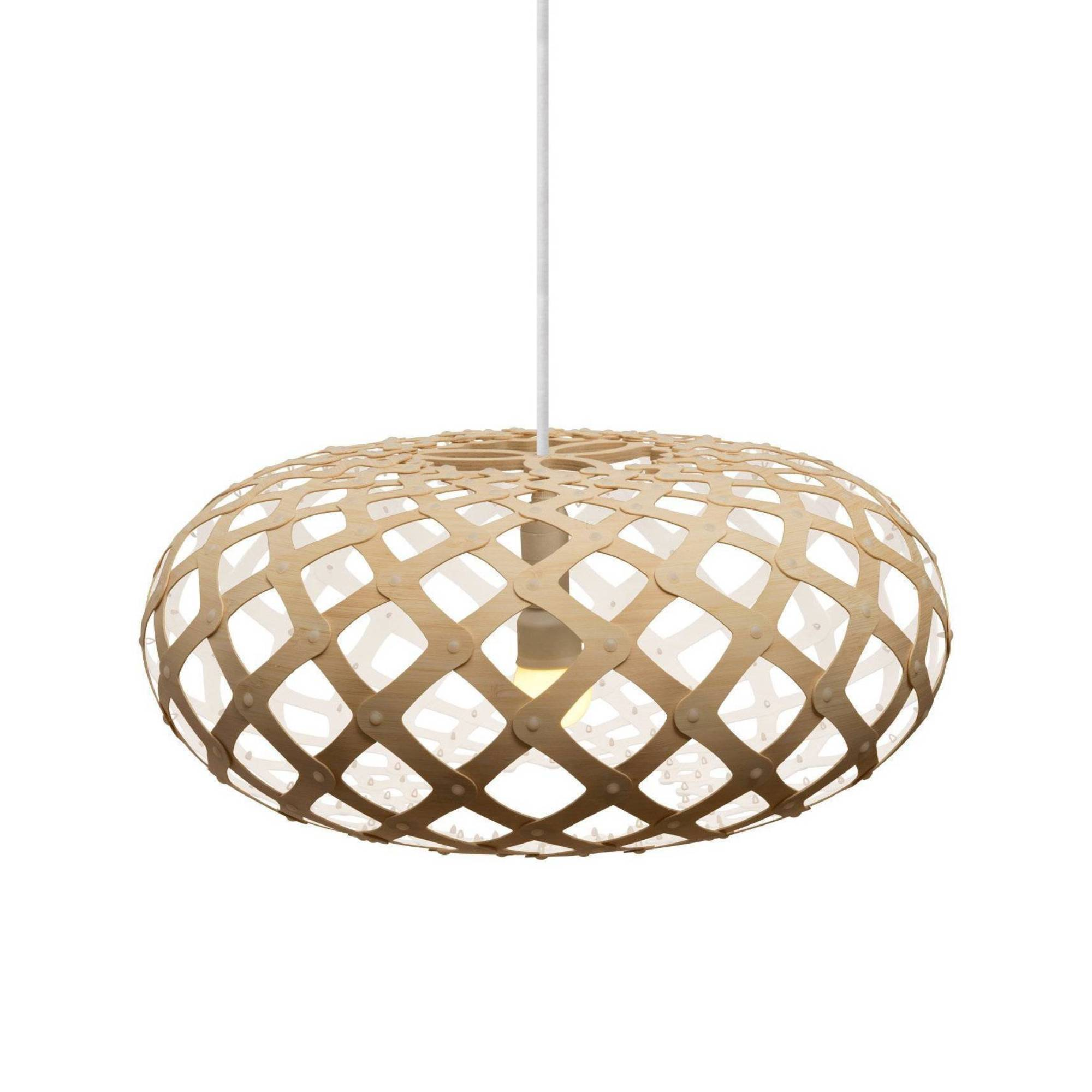 Kina Pendant Light: 600 + White