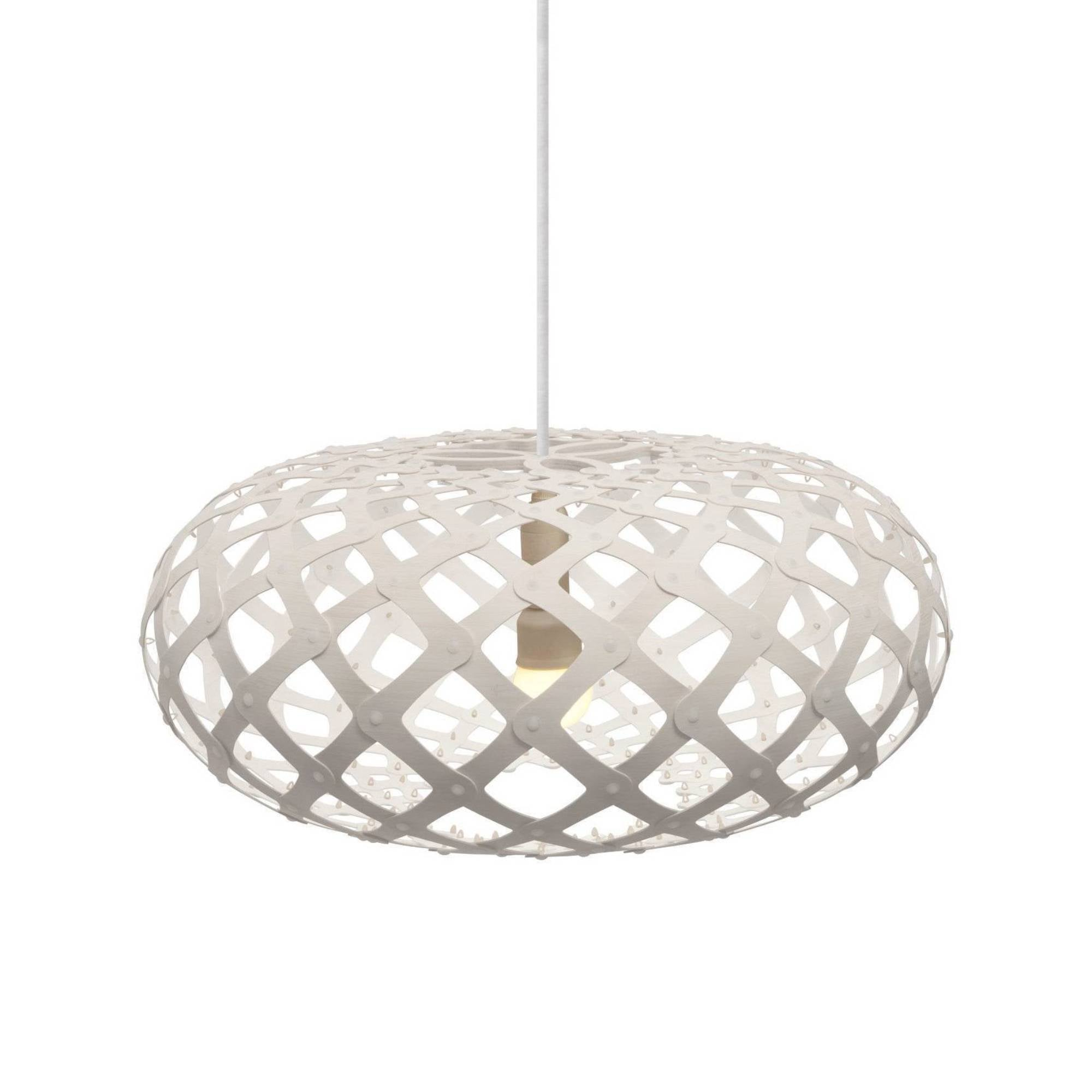 Kina Pendant Light: 600 + White Two Sides