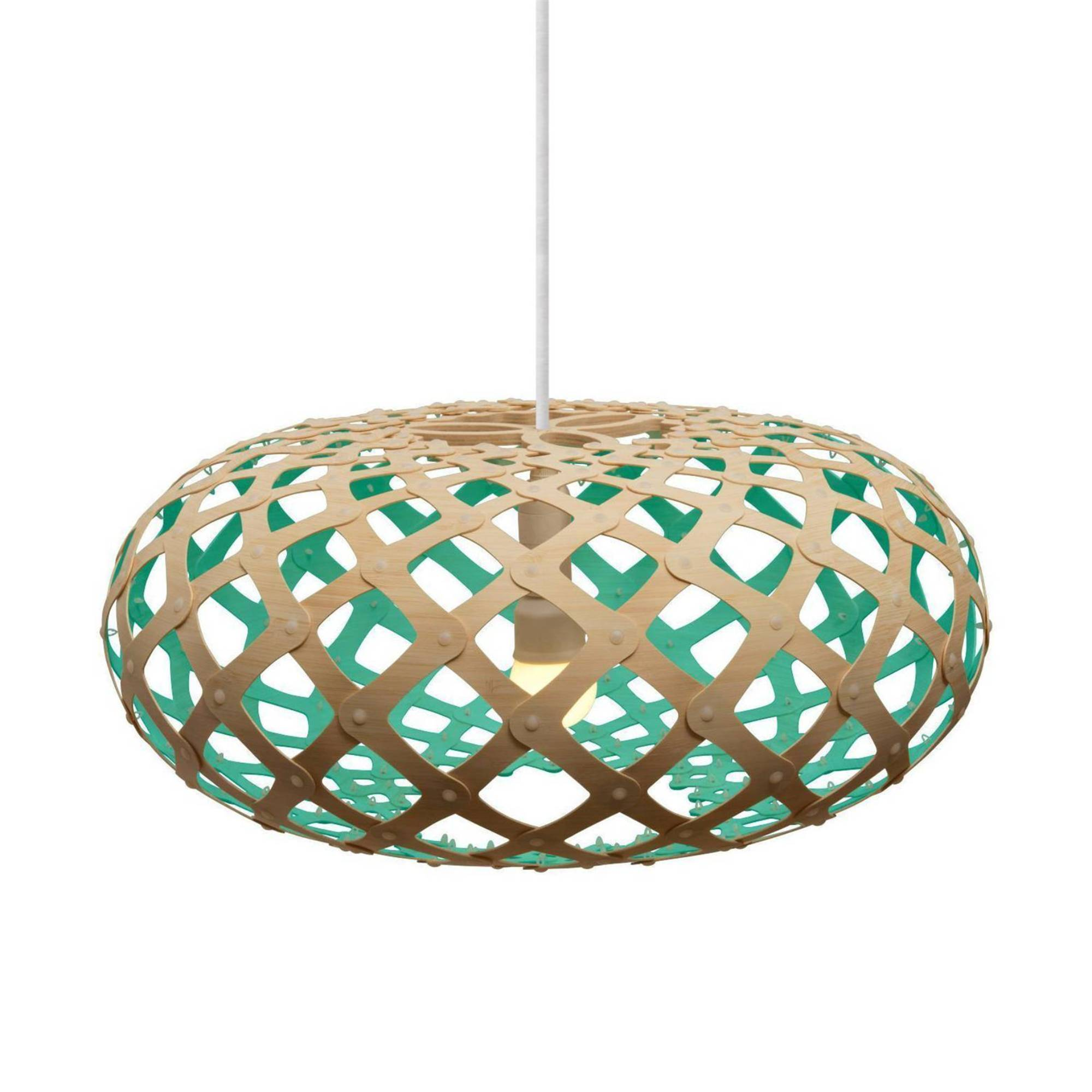 Kina Pendant Light: 800 + Aqua