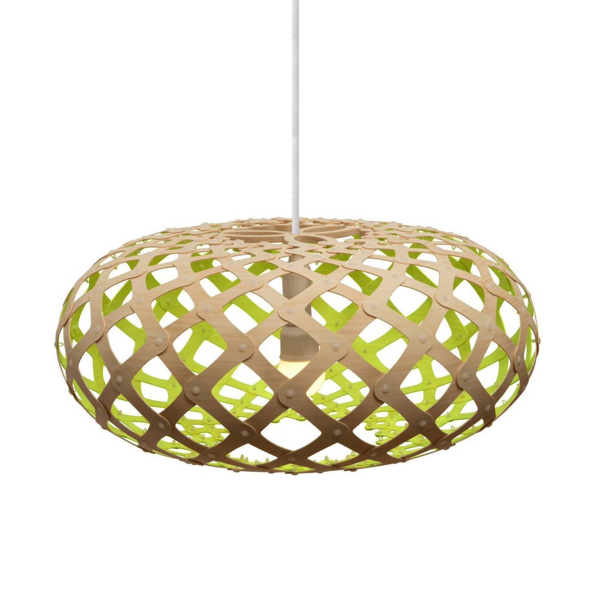 Kina Pendant Light: 800 + Lime