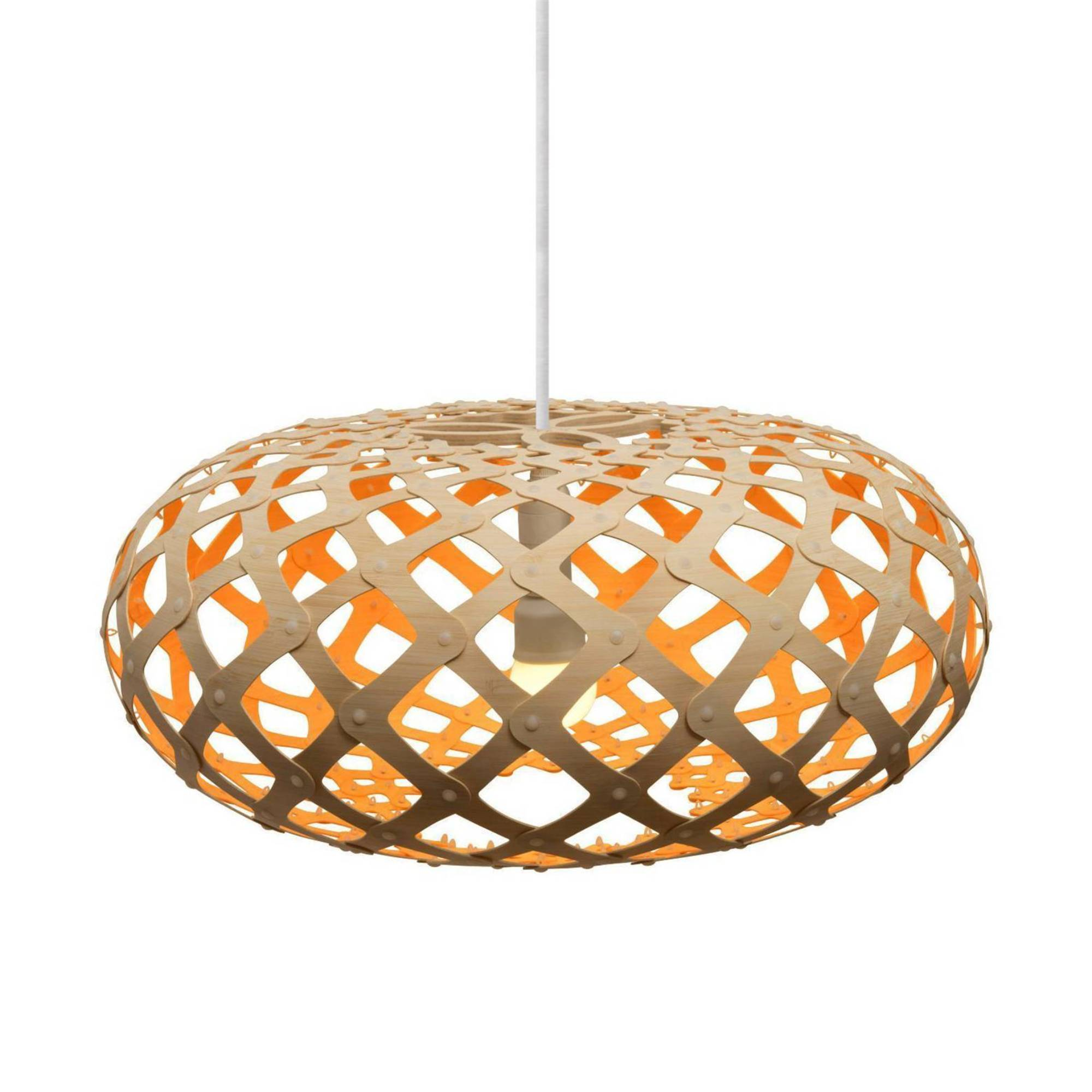 Kina Pendant Light: 800 + Orange