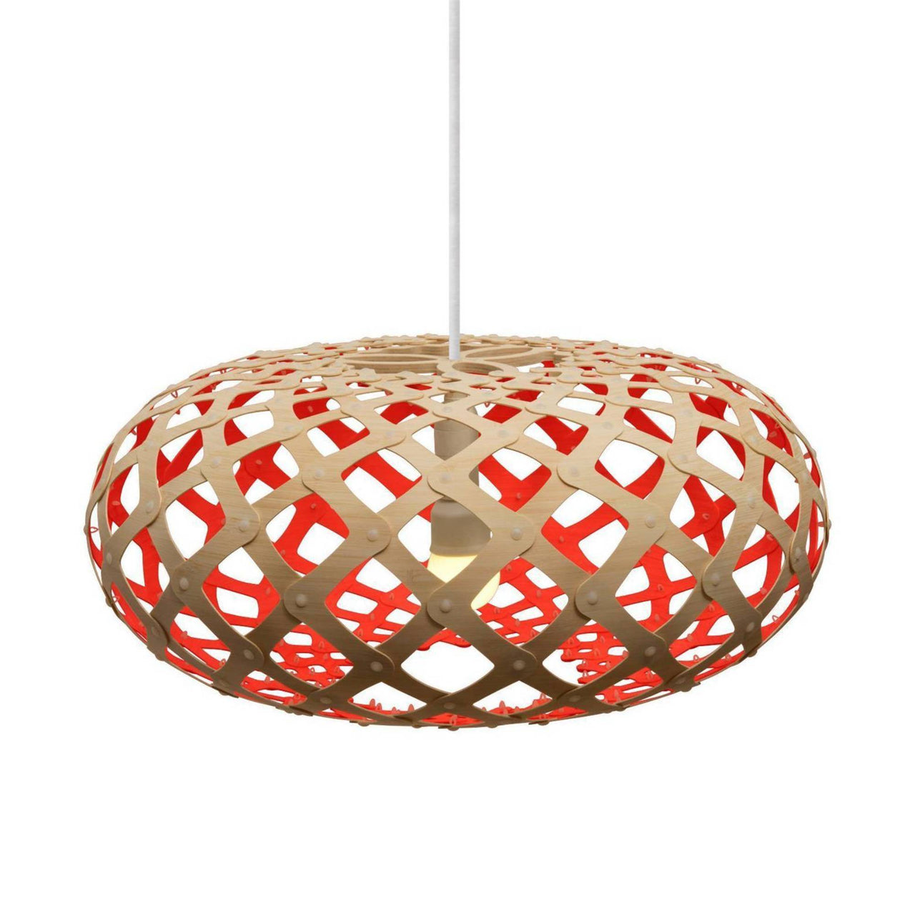 Kina Pendant Light: 800 + Red