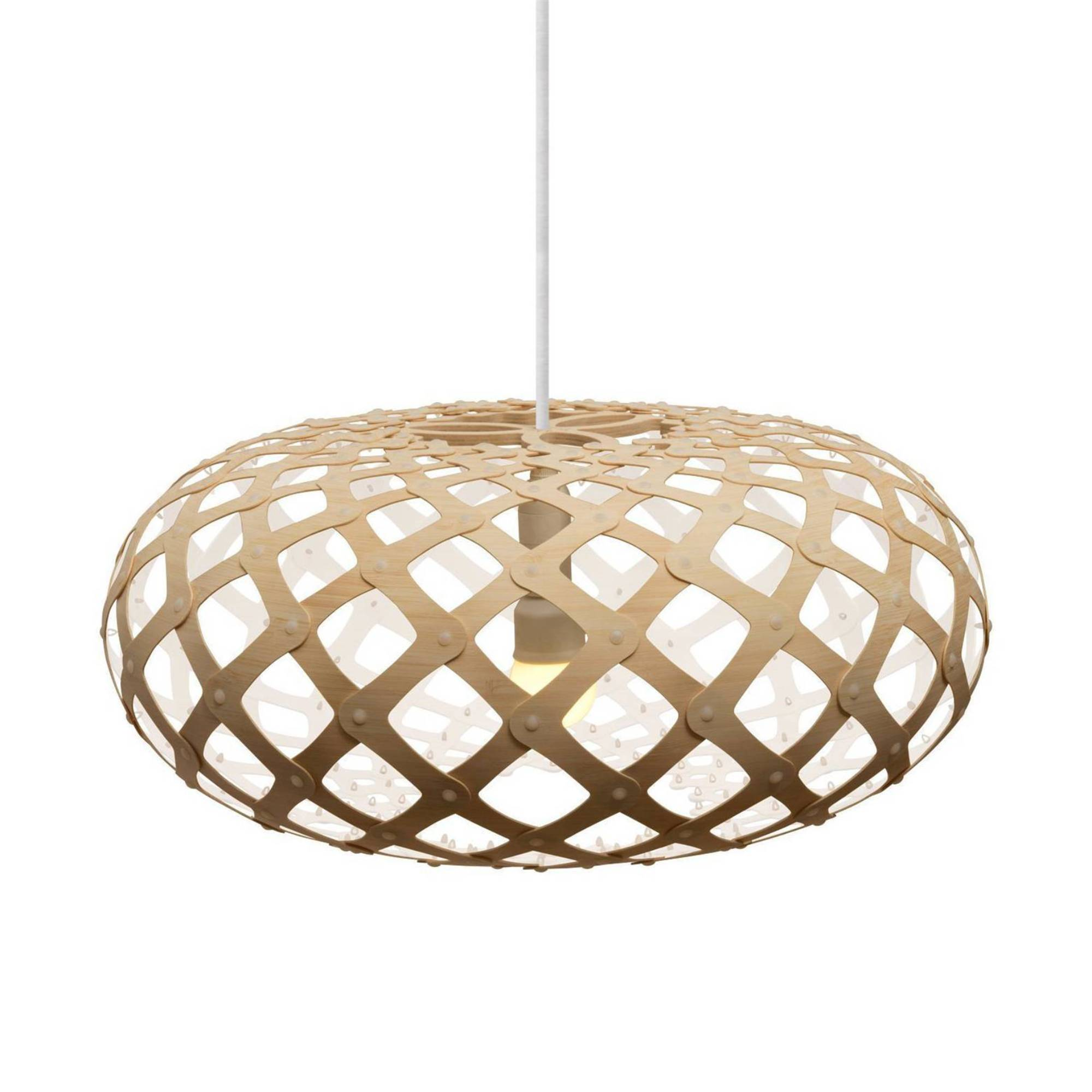 Kina Pendant Light: 800 + White