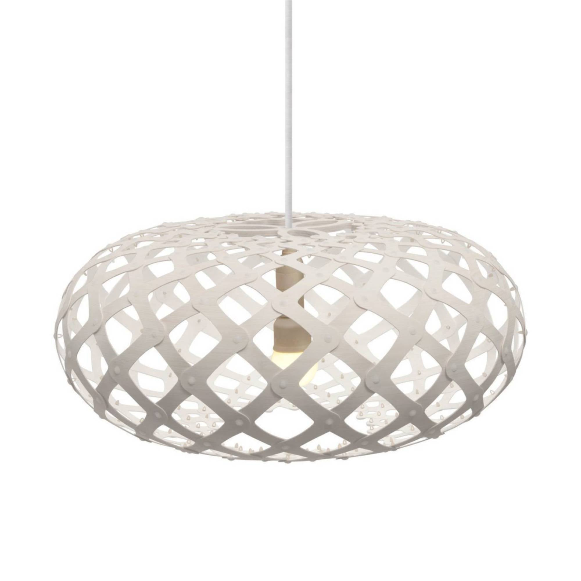 Kina Pendant Light: 800 + White Two Sides