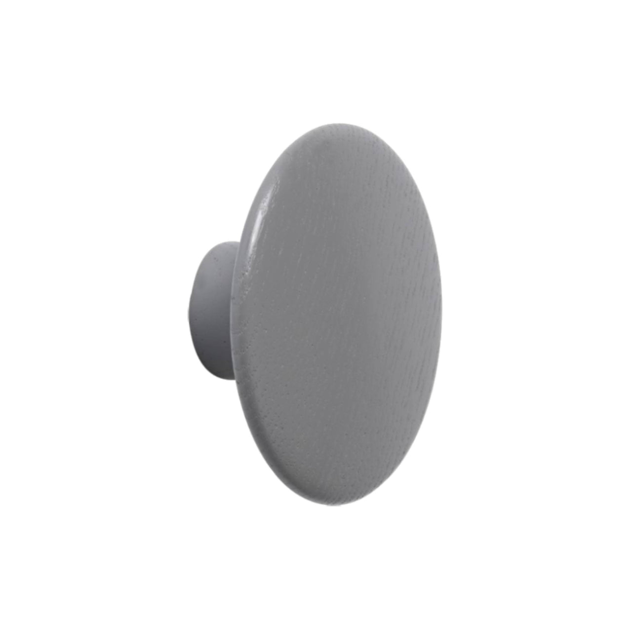 The Dots Wall Hooks: Dark Grey + Large